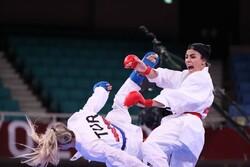 درخشش دختر کاراتهکای ایران در مبارزه اول/ صعود یک کشتیگیر ایران به نیمه نهایی