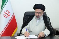 رئیسی درگذشت پدر شهیدان «شریفیان خوزانی» را تسلیت گفت