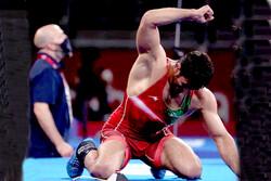عکسهایی از واکنش تند حسن یزدانی بعد از ناکامی در کسب مدال طلا