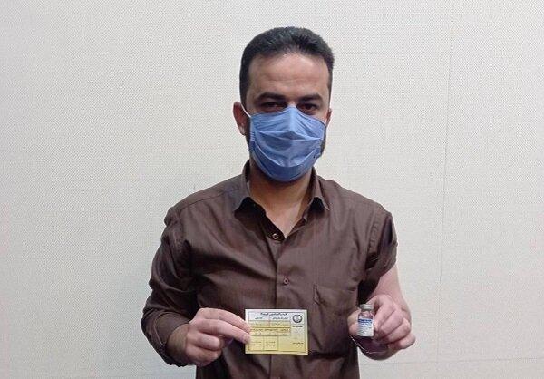۵۵ خبرنگار شهرستان فومن واکسن کرونا دریافت کردند