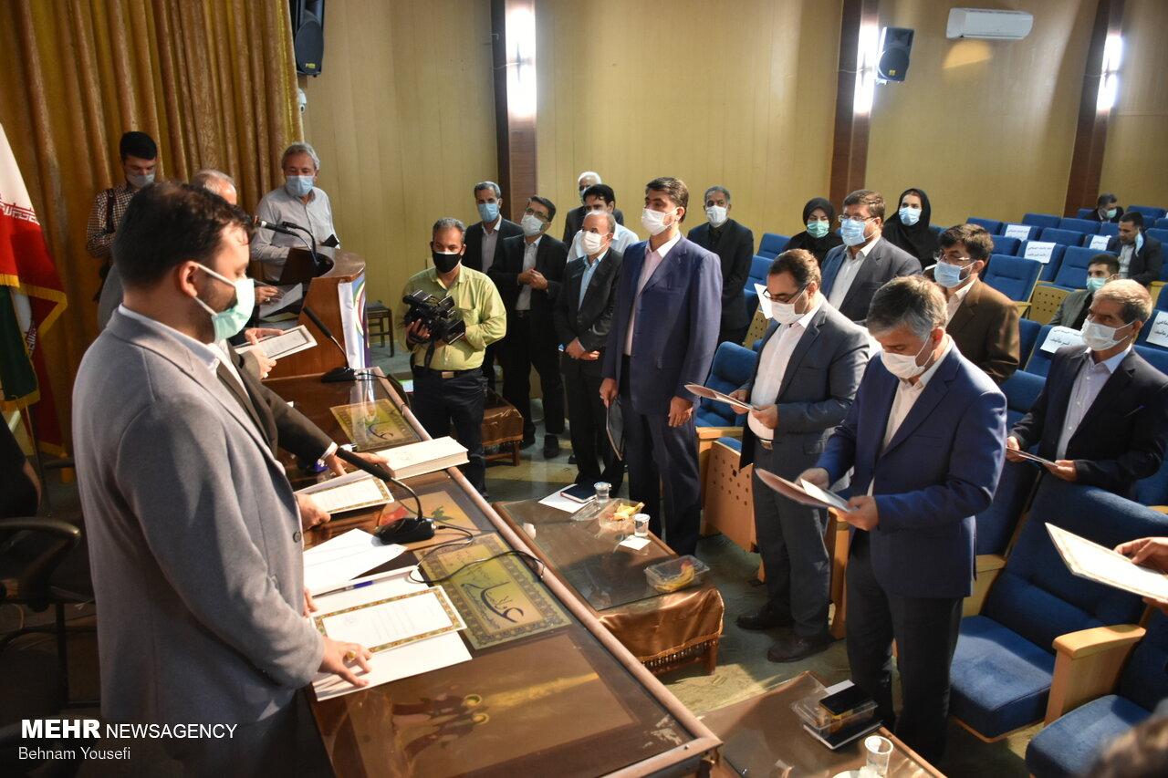 مراسم تحلیف ششمین دوره شورای اسلامی شهر اراک