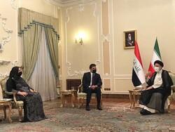Raeisi, Nechirvan Barzani meet