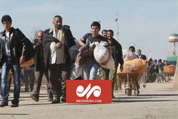 سرازیر شدن مهاجران افغانستانی به سمت ایران