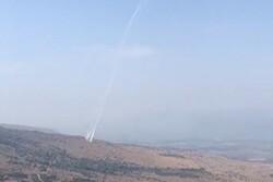 İsrail hava saldırılarına misilleme olarak onlarca roket attık