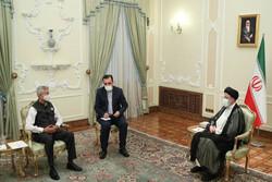 ایران، ہندوستان  کے ساتھ وسیع تعلقات کو خصوصی اہمیت دیتا ہے