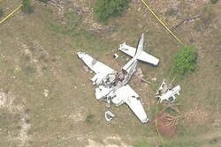 ABD'de gezi uçağı düştü: 6 ölü