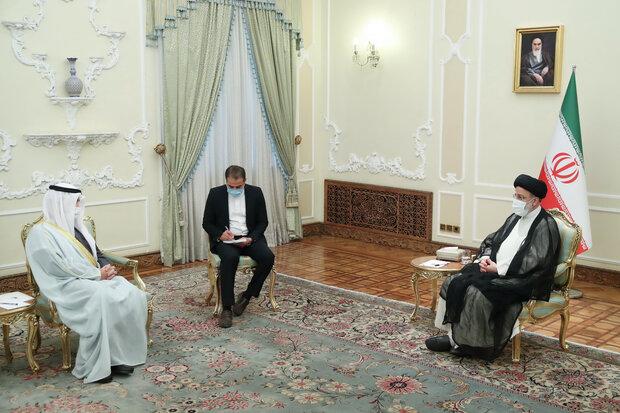 القضايا العالقة بين دول المنطقة يجب حلها بالحوار/لا ينبغي ترك بصمة للتدخل الأجنبي في المنطقة