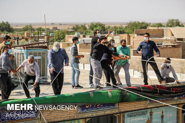 İran Aşura etkinliklerine hazırlanıyor