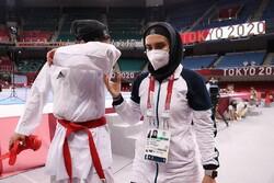 گریههای حمیده عباسعلی بعد از حذف شدن از المپیک