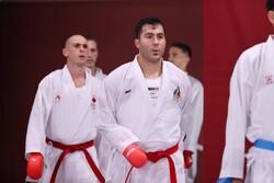 تساوی سجاد گنجزاده برابر کاراته کا عربستان/ در انتظار مبارزات آینده
