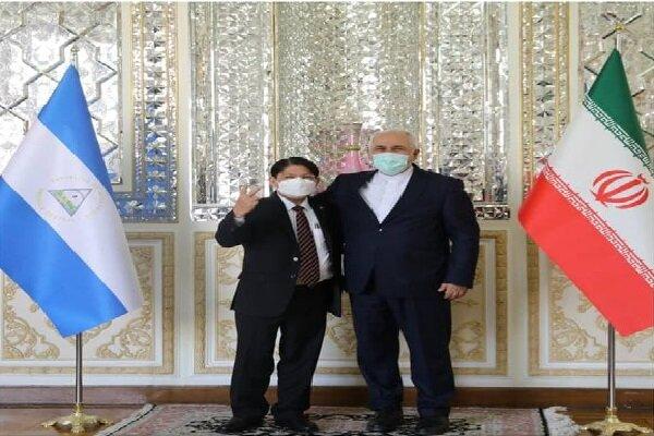 Zarif, Nikaragua Dışişleri Bakanı ile Tahran'da görüştü