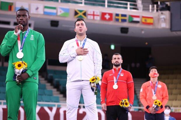 Karateka Ganjzadeh wins 3rd gold for Iran in Olympics