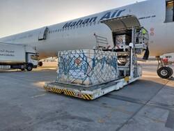 پنجاهمین محموله واکسن کرونا وارد فرودگاه امام شد