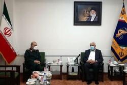 Tümgeneral Selami Haşdi Şabi Başkanı ile görüştü