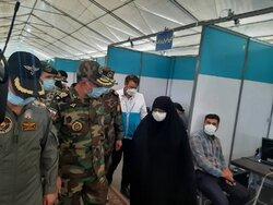 راهاندازی دومین بیمارستان مجهز تنفسی ارتش در اصفهان