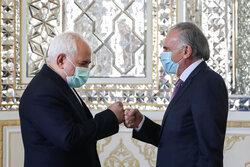Zarif, UN envoy hold meeting on Afghanistan