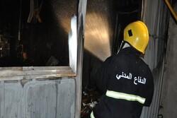 Fire breaks out in a hospital in Iraq's Karbala