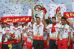 Fulad takımı İran kupasını kazandı
