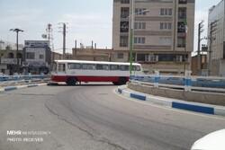 مسیرهای منتهی به شهر دوگنبدان مسدود شد/ قطع دسترسی آرامستان شهر