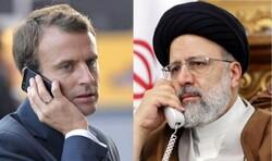 Raeisi tells Macron E3 must adhere to JCPOA commitments