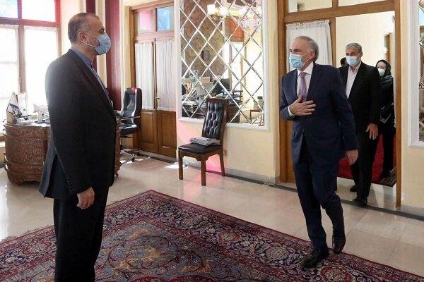 دیدار امیرعبداللهیان و نماینده دبیرکل سازمان ملل متحد