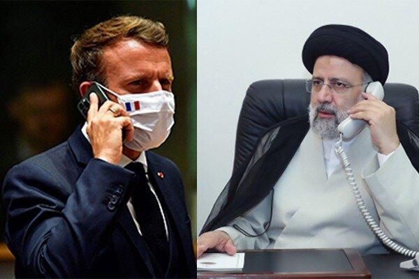Reisi ile Macron telefonda nükleer anlaşmayı görüştü