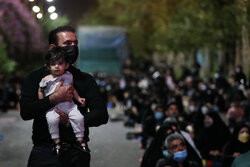 1st night of mourning month of Muharram in Tehran