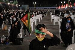 تہران میں محرم الحرام کی پہلی رات