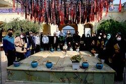 گرامیداشت روز خبرنگار در پارکموزه دفاع مقدس مازندران