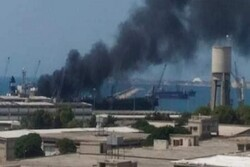 Explosion reported on a merchant ship in Latakia