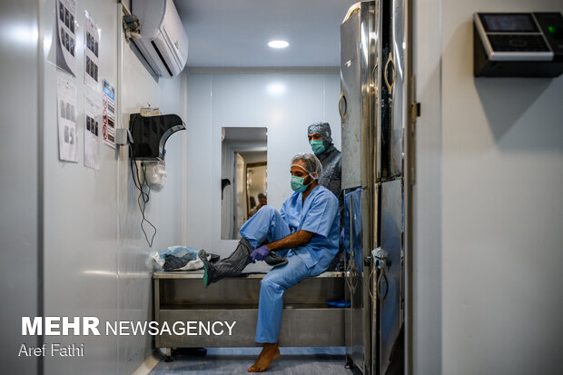 خط تولید واکسن کوو ایران برکت