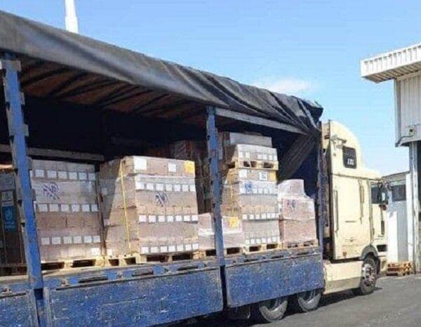 ۵ دستگاه کامیون حامل سرم از مرز بازرگان وارد کشور شد