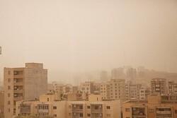 گرد و غبار میهمان شهرهای مرزی کرمانشاه در پایان هفته خواهد بود