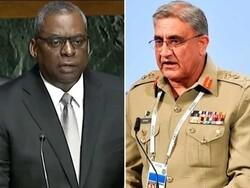 پاکستانی فوج کے سربراہ اور امریکی وزیر دفاع کی ٹیلیفون پر گفتگو