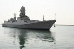 تدريب بحري هندي سعودي في مياه الخليج الفارسي