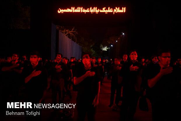 عزاداری شب دوم محرم در اجتماع عظیم عشیره عاشورا