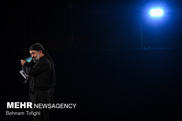 2st night of mourning month of Muharram in Tehran