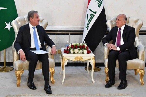 وزير الخارجية العراقي يجري محادثات مع نظيره الباكستاني