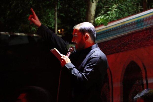 مراسم شب دوم هیئت محبین الرقیه (س) لرستان برگزار شد