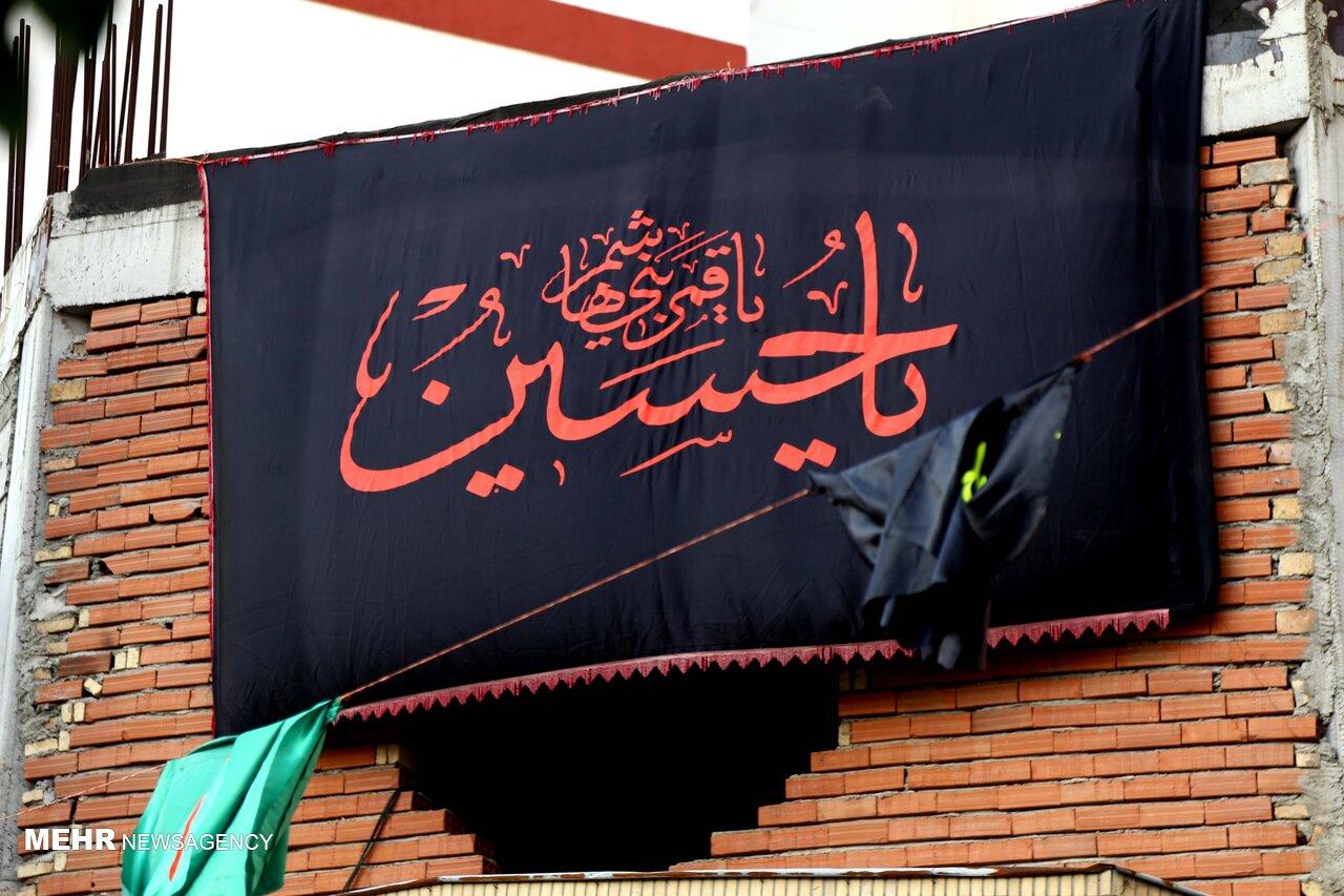 دیار دریادلان سیاهپوش امام حسین(ع) شد/ دومین محرم زیر سایه کرونا