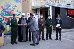 تجلیل از خبرنگاران بسیجی کردستان