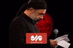 مداحی واحد محمود کریمی در شب دوم محرم