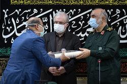 نشست مشترک فرمانده کل سپاه پاسداران با وزیر بهداشت