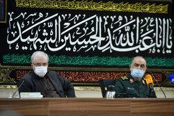 سپاہ پاسداران کے سربراہ  اور وزیر صحت کا مشترکہ اجلاس منعقد
