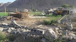 تخریب ۱۴ باغشهر غیر مجاز در شهرستان مرودشت