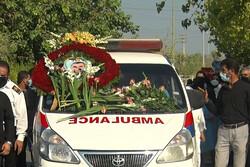 یازدهمین شهید مدافع سلامت استان بوشهر تشییع و خاکسپاری شد
