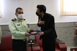 بازدید فرمانده انتظامی سیستان و بلوچستان از دفتر خبرگزاری مهر