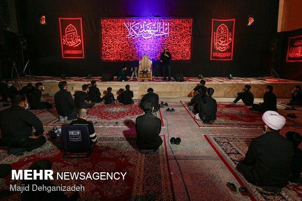 عزاداری شب سوم ماه محرم در کاظمیه یزد