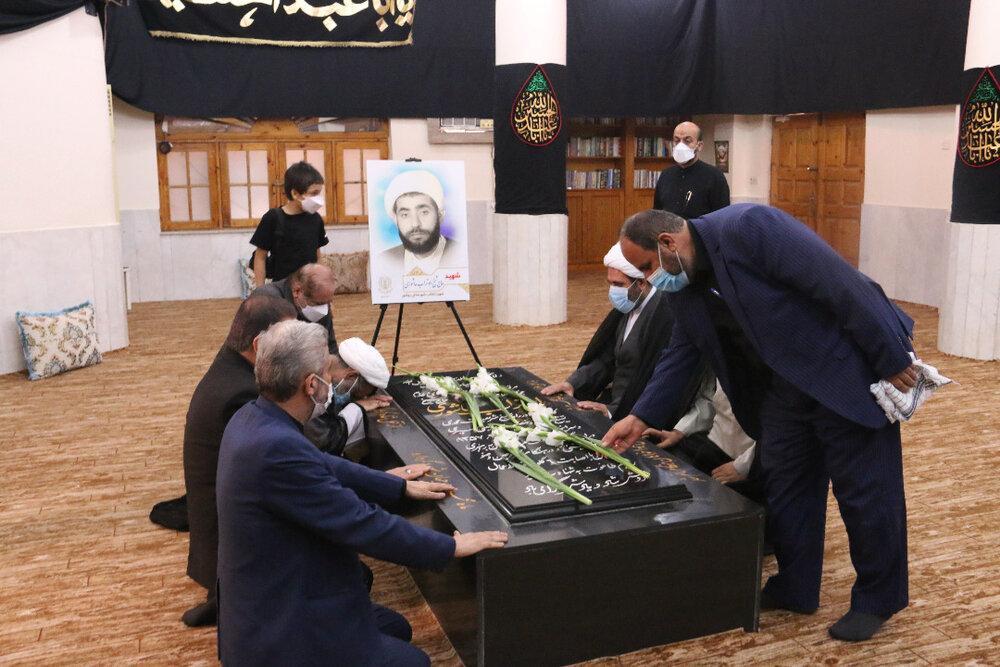 مراسم سالگرد شهادت پرچمدار مبارزات انقلابی بوشهر برگزار شد