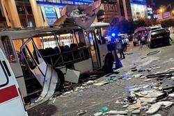 انفجار یک دستگاه اتوبوس مسافربری در شهر «وارونژ» روسیه